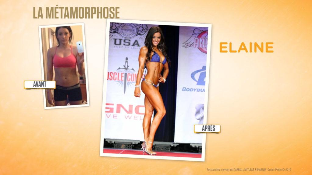 Elaine seche sportive musculation fitness regime